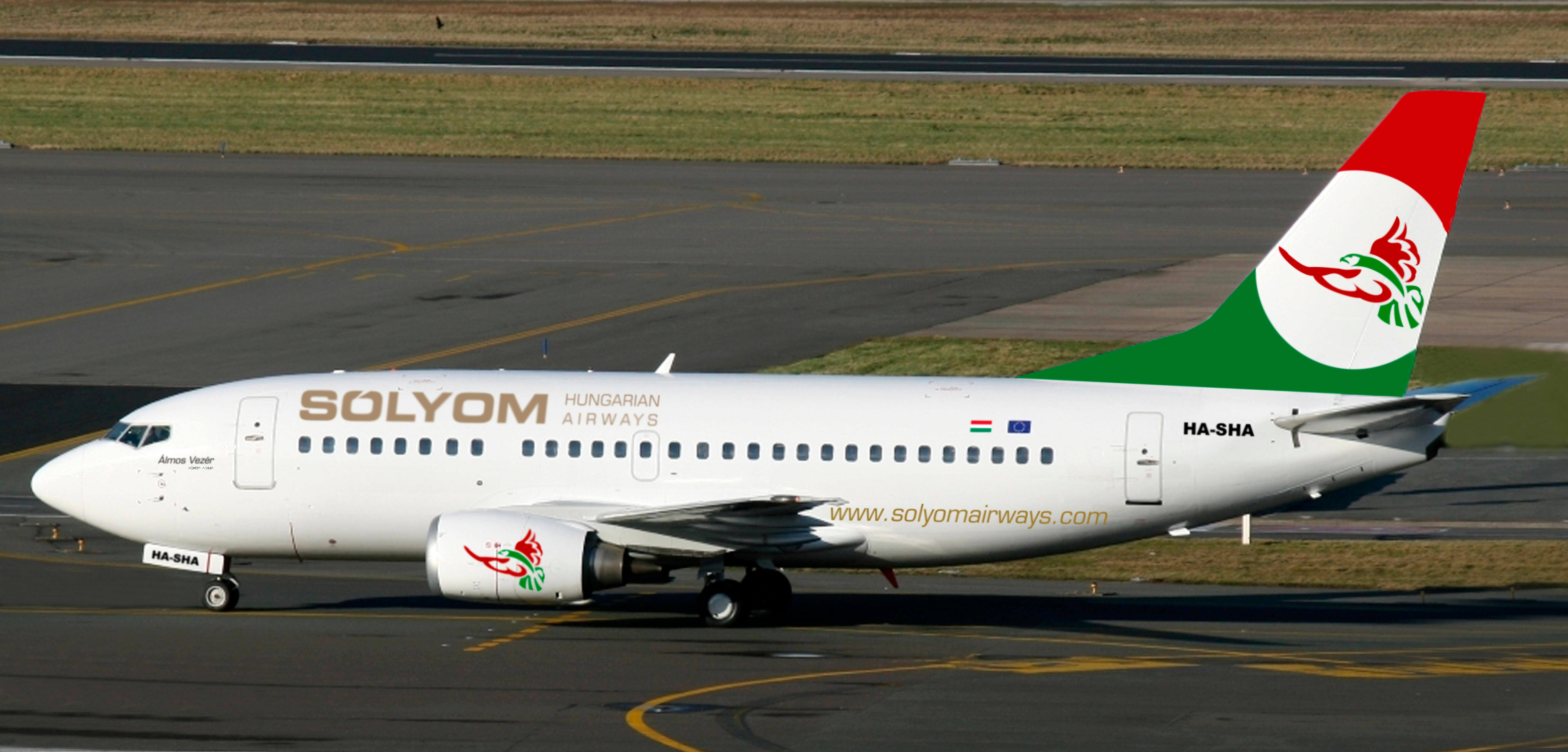 Welcome Aboard The New Hungarian Airline: Sólyom