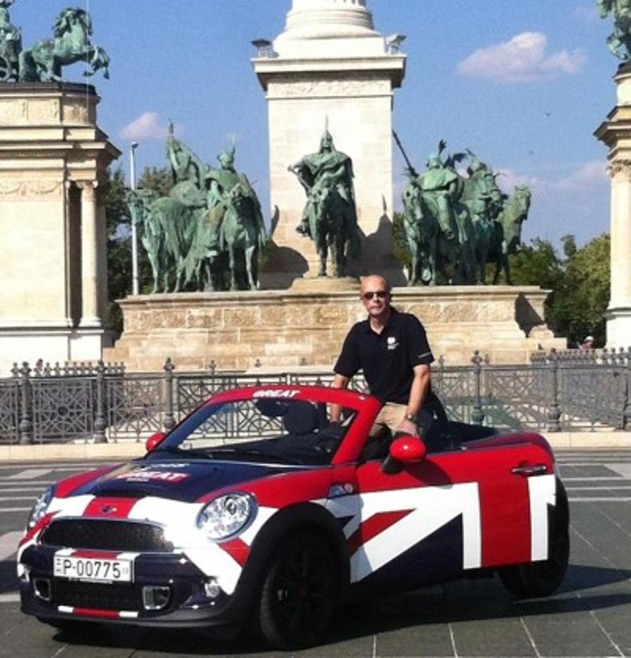 'Innovation Was GREAT At The Hungarian Grand Prix', By Jonathan Knott, British Ambassador To Hungary