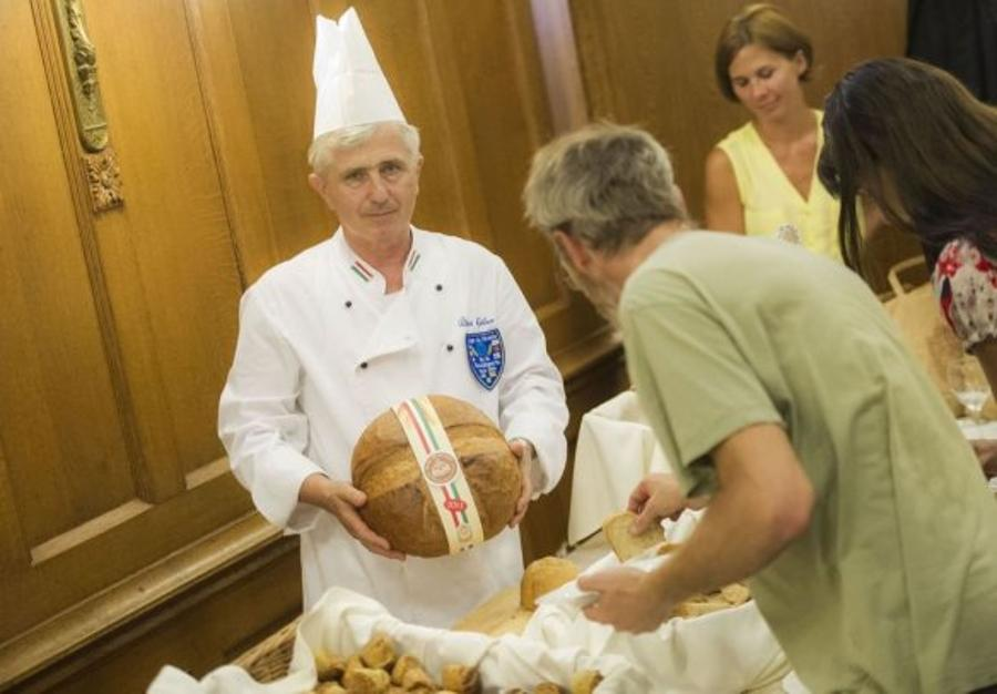 Invitation: 'Blessing Of The Bread' Celebration, Budapest. 20 August
