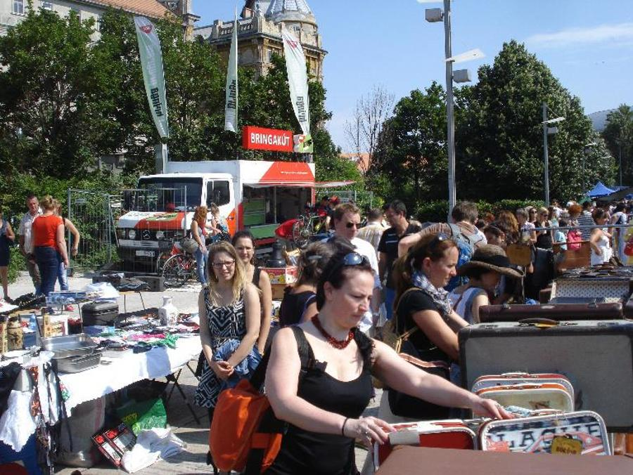 Great Culture (Flea) Market Of Budapest, 25 August
