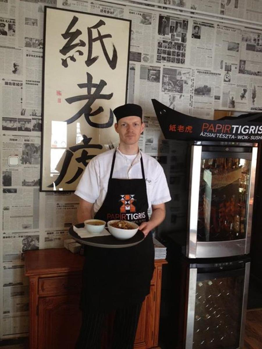 Paper Tiger Budapest: Amazing Asian Restaurant, Free* Home-Delivery