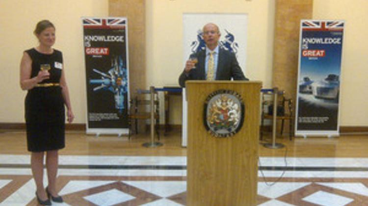 London School Of Economics Students' Reunion At The British Embassy Budapest