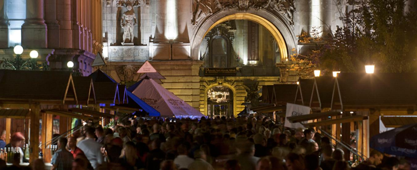 Now On Until Sunday: Budapest International Wine Festival