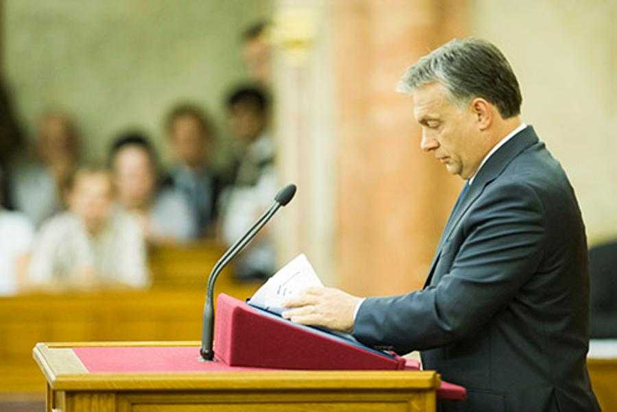 "Hungary's PM Orbán: ""Us Against The World"""