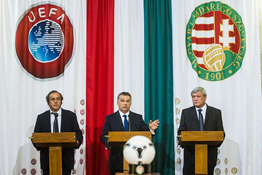 Hungary Launches Bid To Co-Host 2020 UEFA European Football Championship