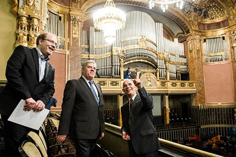 Newly Renovated Liszt Academy Of Music Reopens In Budapest