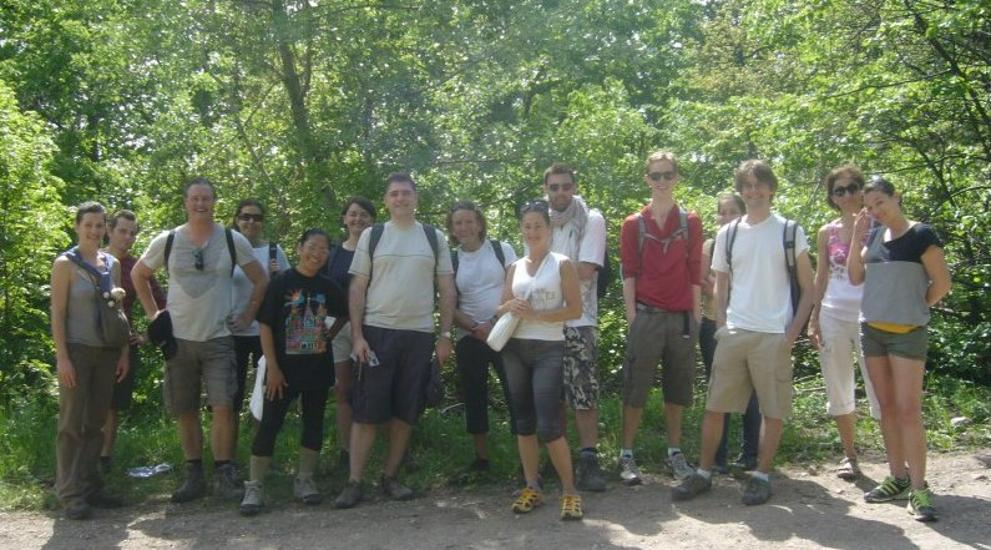 Invitation:  Walk Up A Hill In Budapest, 6 October