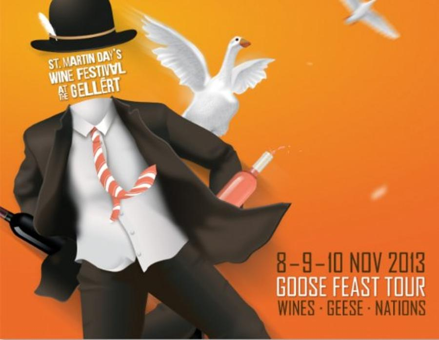 Invitation: Martin's Day Wine Festival, Budapest, 8 - 10 November