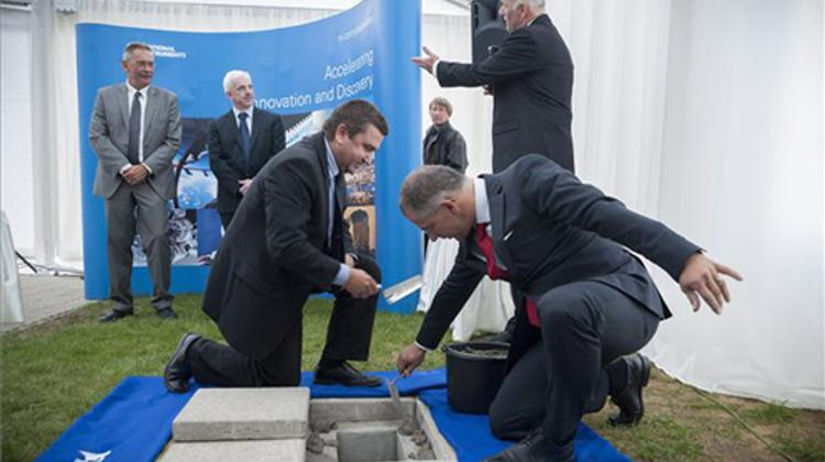 Laying Of Foundation Stone For National Instruments' Science Park In Hungary