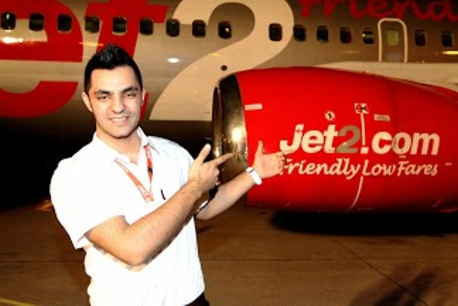 Jet2.Com Flight Opening  With  Oláh Gergő,  Hungarian X-Faktor Winner