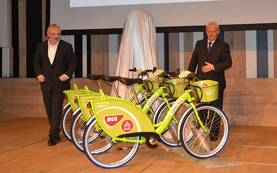 Bicycles Of MOL Bubi Public Bicycle System Have Been Introduced In Budapest