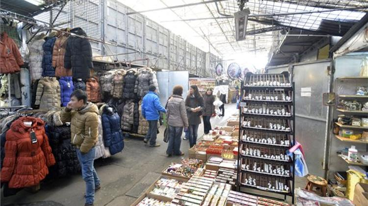 Attempt To Take Back Makeshift Market In Budapest Ends In Standoff