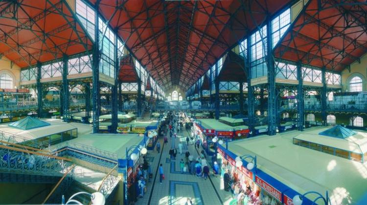 'Chinese Days' At Central Market Hall (Nagycsarnok) In Budapest