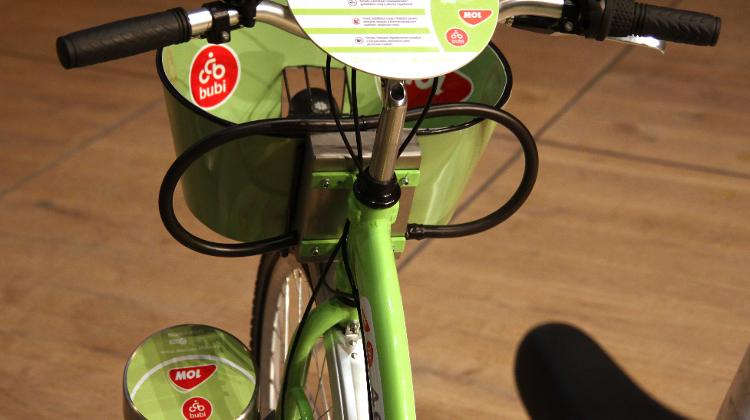 BKK Reveals The Bicycles Of The MOL Bubi Public Bike-Sharing Scheme In Budapest