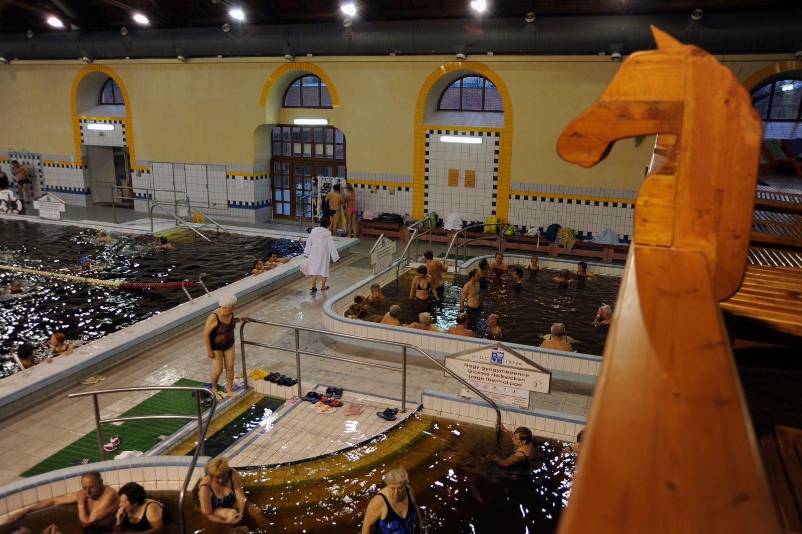 Recently Renovated Baths Reopened In Gyula, Hungary