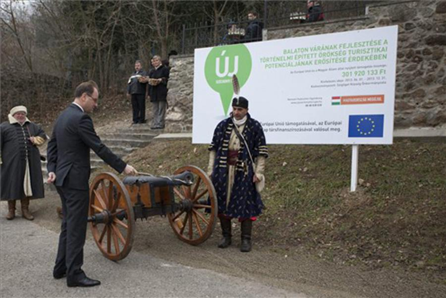 Szigliget Castle Renewed & Reopened To Public From EU Funds