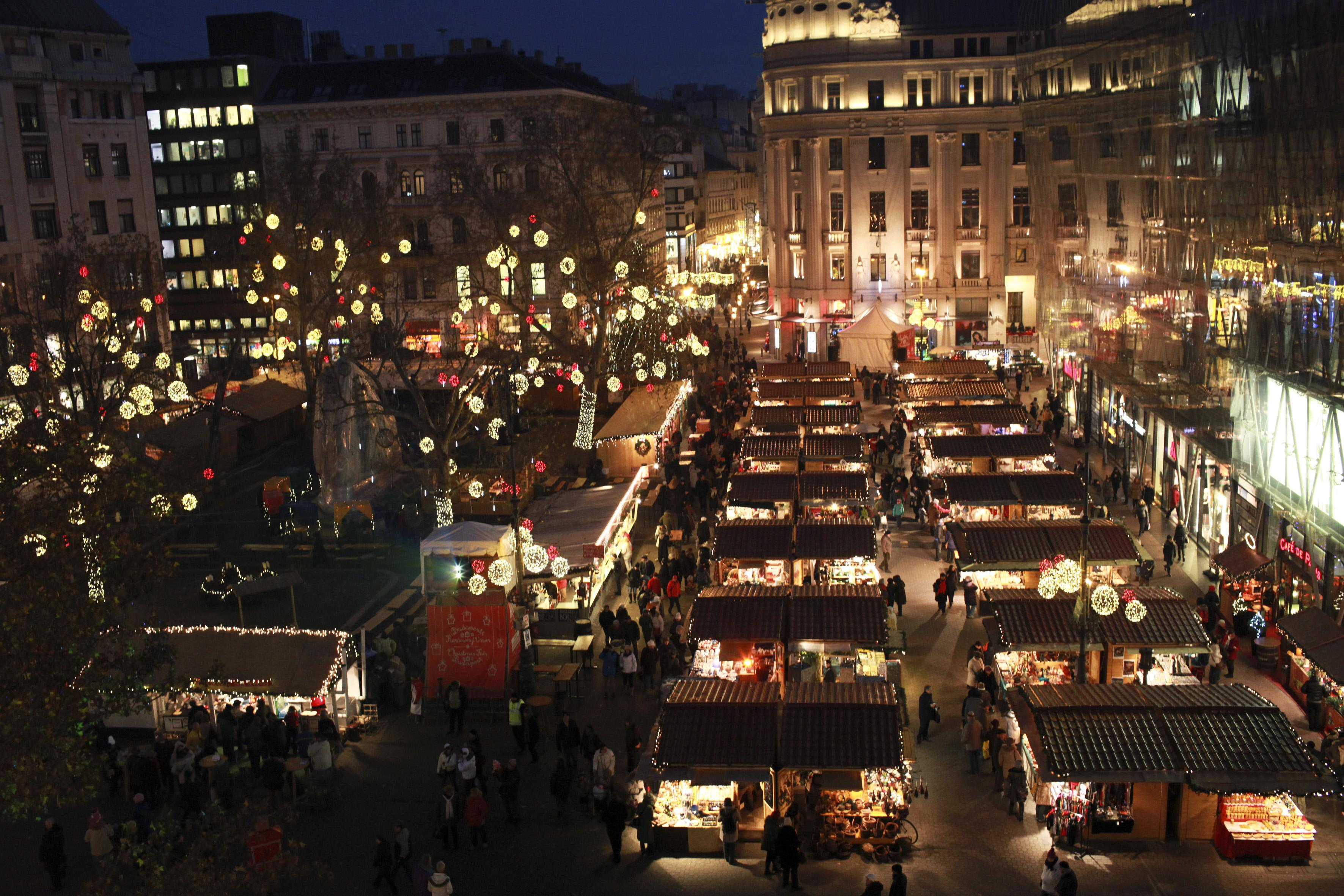 Feel The Warm Glow Of Budapest's Holiday Markets