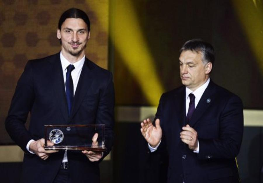 Hungary's  PM  Orbán Handed Over This Year's Puskás Award At FIFA Gala