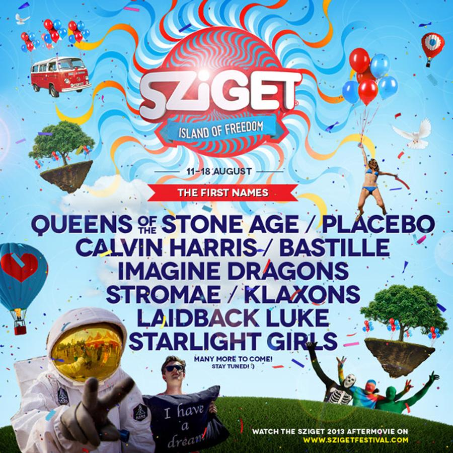First Names Announced For Sziget Festival Budapest 2014