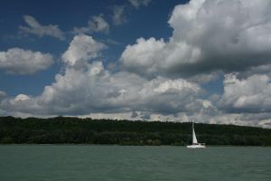 Lake Balaton Is Viable As A Tourist Region Together With Bakony And The Balaton Uplands  In Hungary