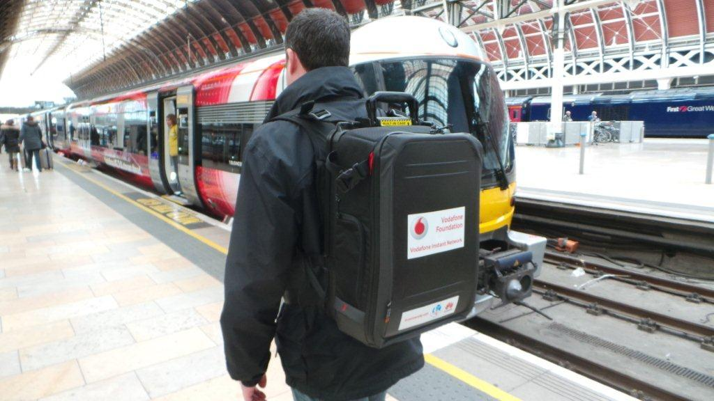 Vodafone Foundation Unveils 'Mini' Mobile Network In A Backpack