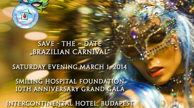 Invitation: Smiling Hospital Foundation Budapest, Grand Gala, 1 March