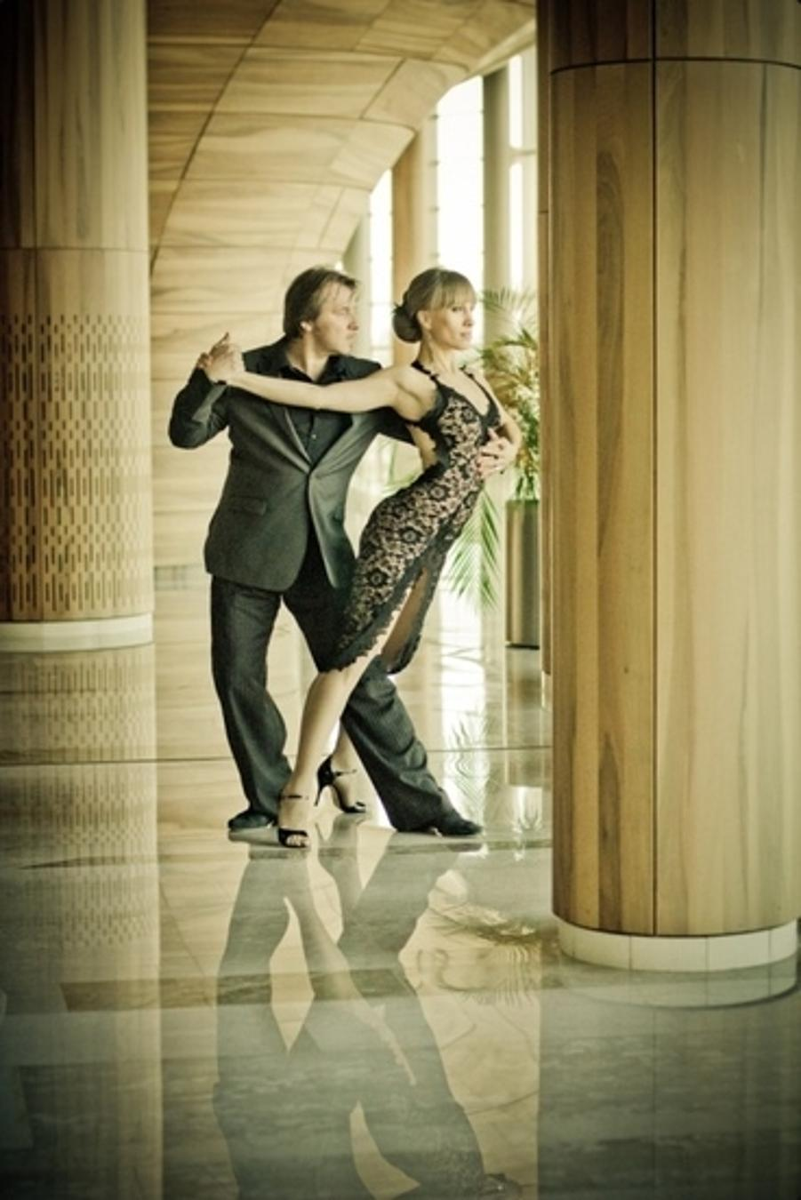 Invitation: 'Tango No Tango', Festival Theatre Budapest, 14 February