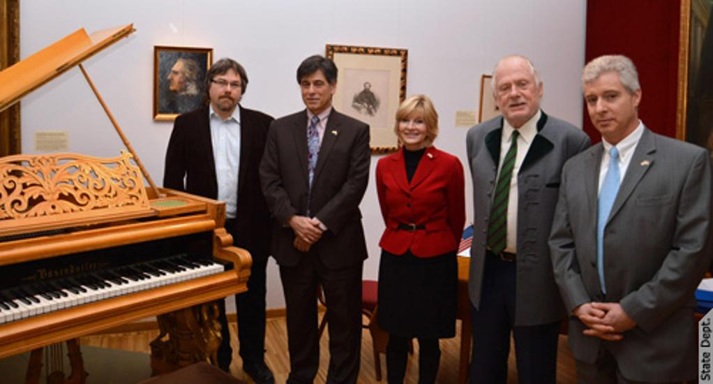 Hubay Piano Transferred To The Museum Of Musicology In Budapest
