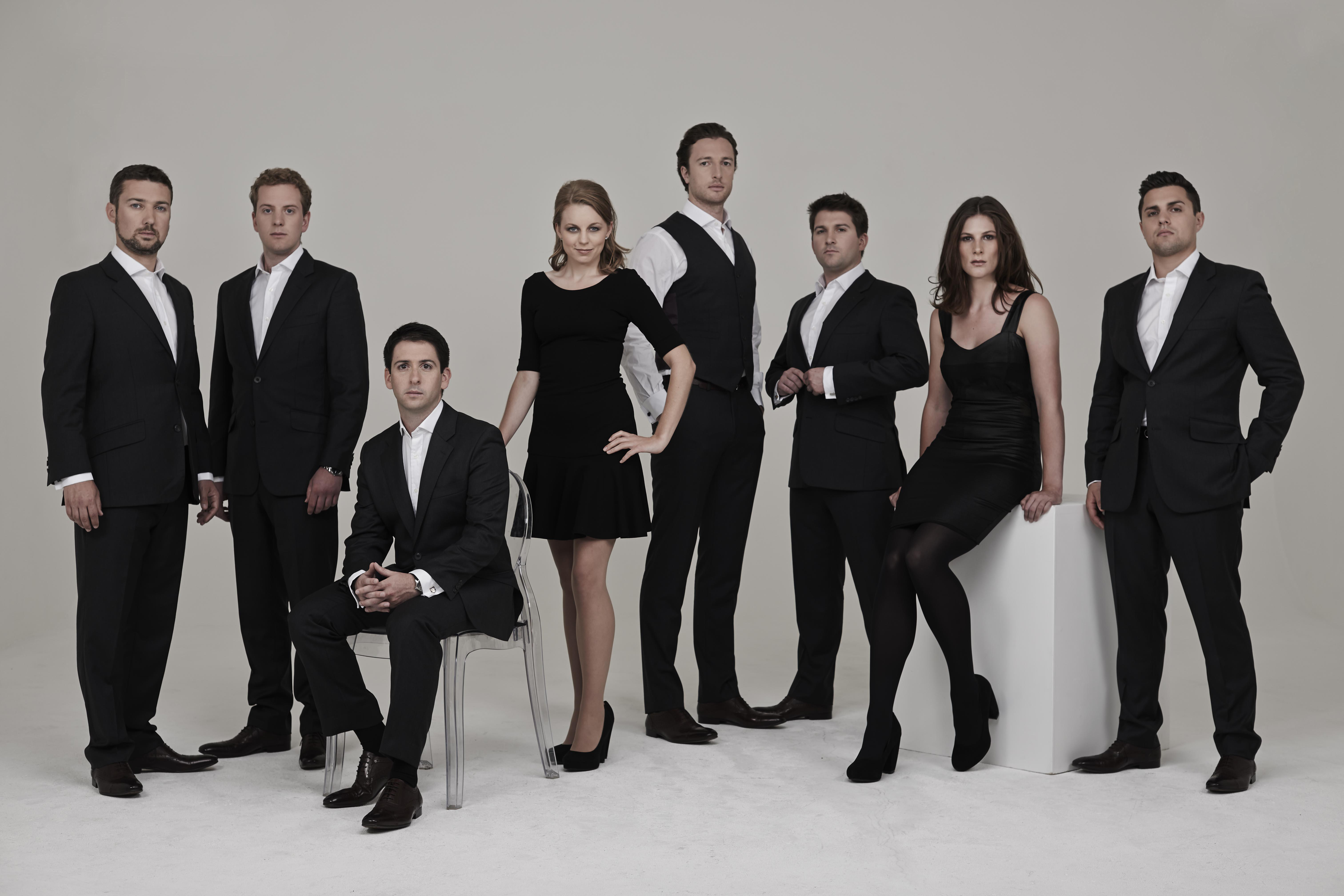 British Vocal Group Voces8 In Budapest On 28 March