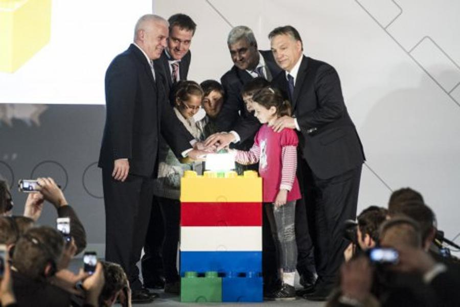 Lego Plant In Hungary Inaugurated