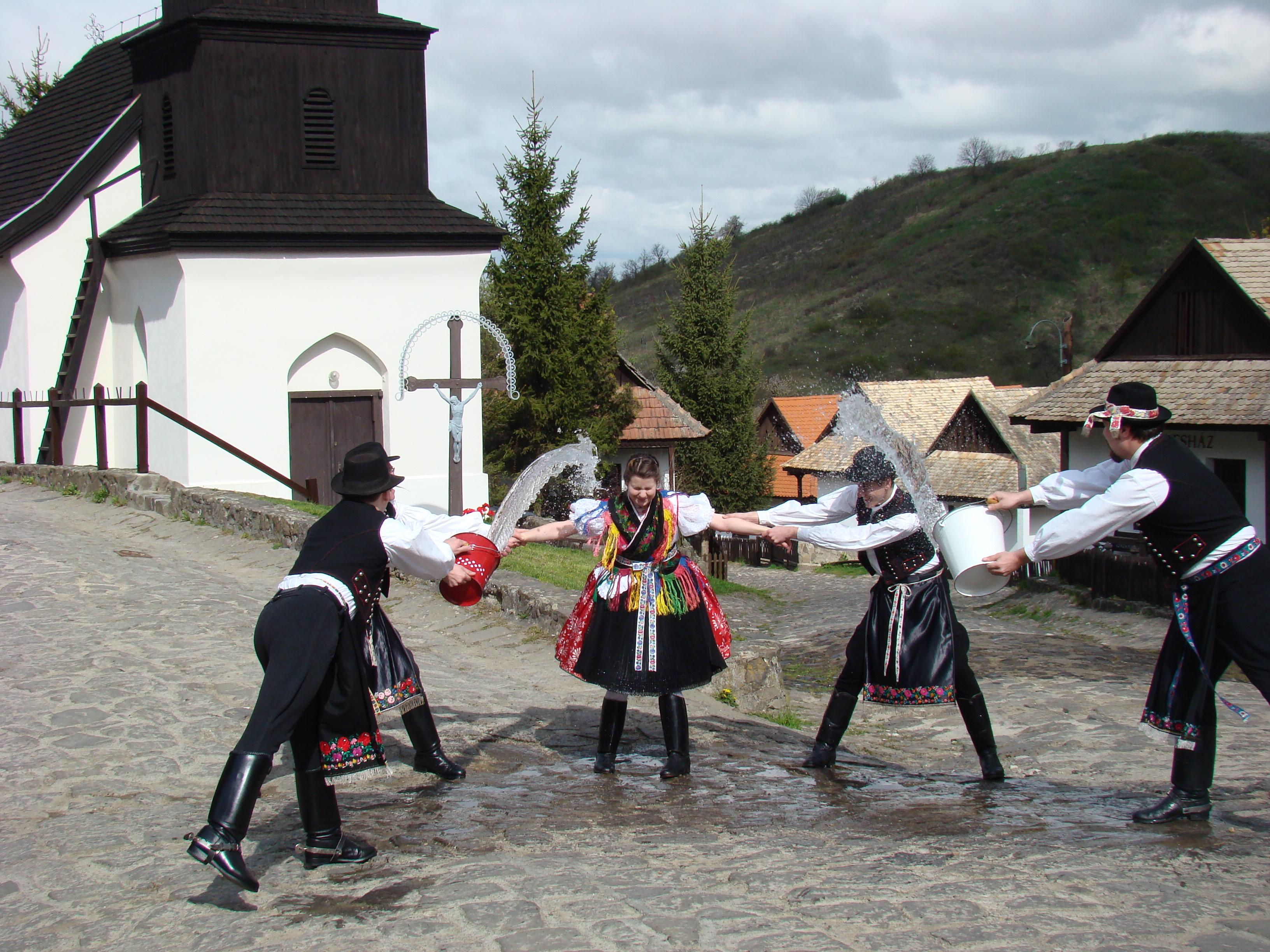 Easter Festival In Hollókő, Hungary, 19 - 21 April