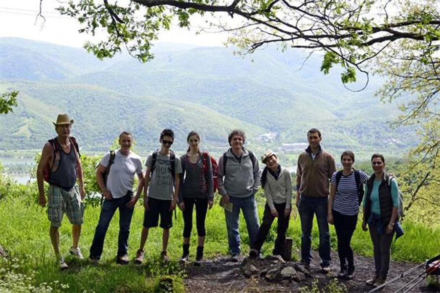 See What Happened @ IHBC April Hike In The Börzsöny Hills, From Nagymaros To Zebegény