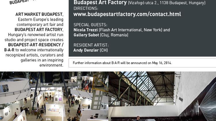 Opening Night Of Budapest Art Residency  B A R , 16 May - XpatLoop com