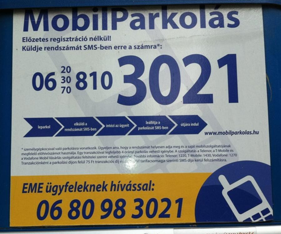 Private Mobile Parking Payment Operator In Hungary Launches Infringement
