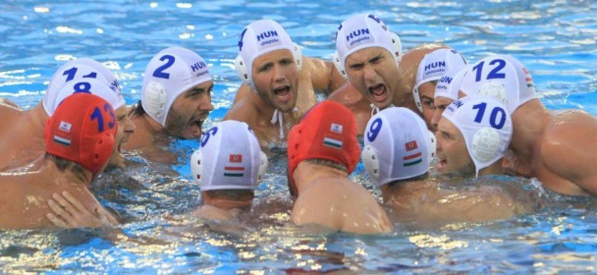 Hungarian Water Polo Team To Play For Gold On Saturday