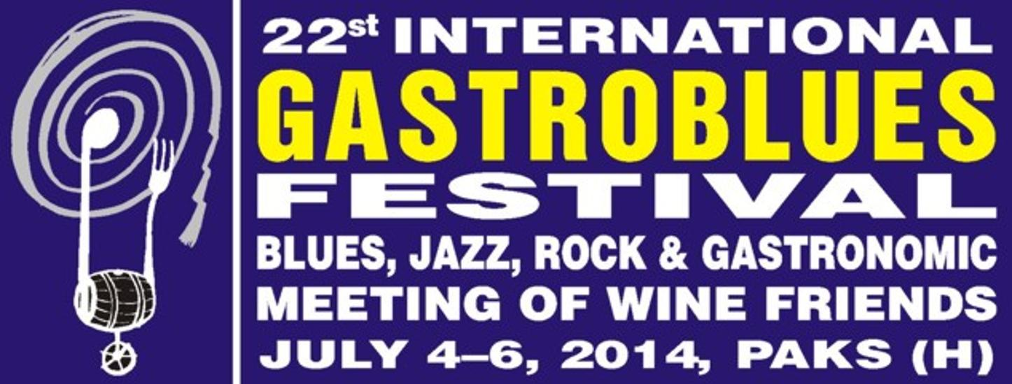 International Gastroblues Festival, Hungary, 4 - 6 July