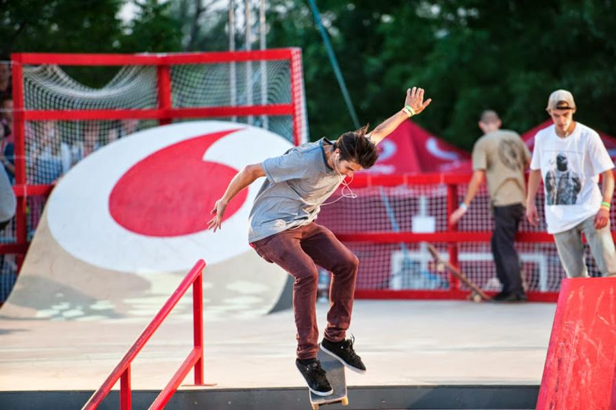 Vodafone Unveils World Class Skate Park In Budapest