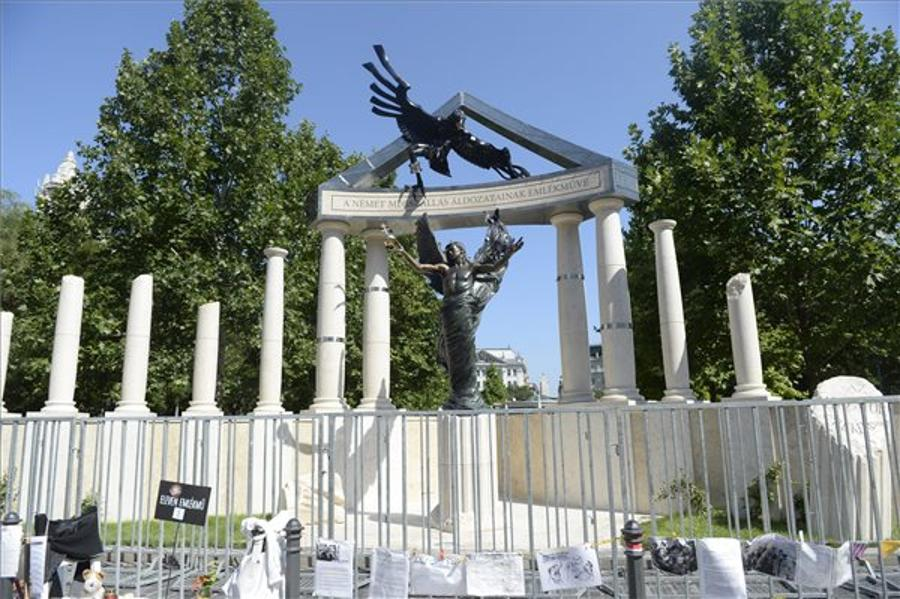Hungary's Govt Plans No Inauguration Ceremony For WWII Monument In Budapest