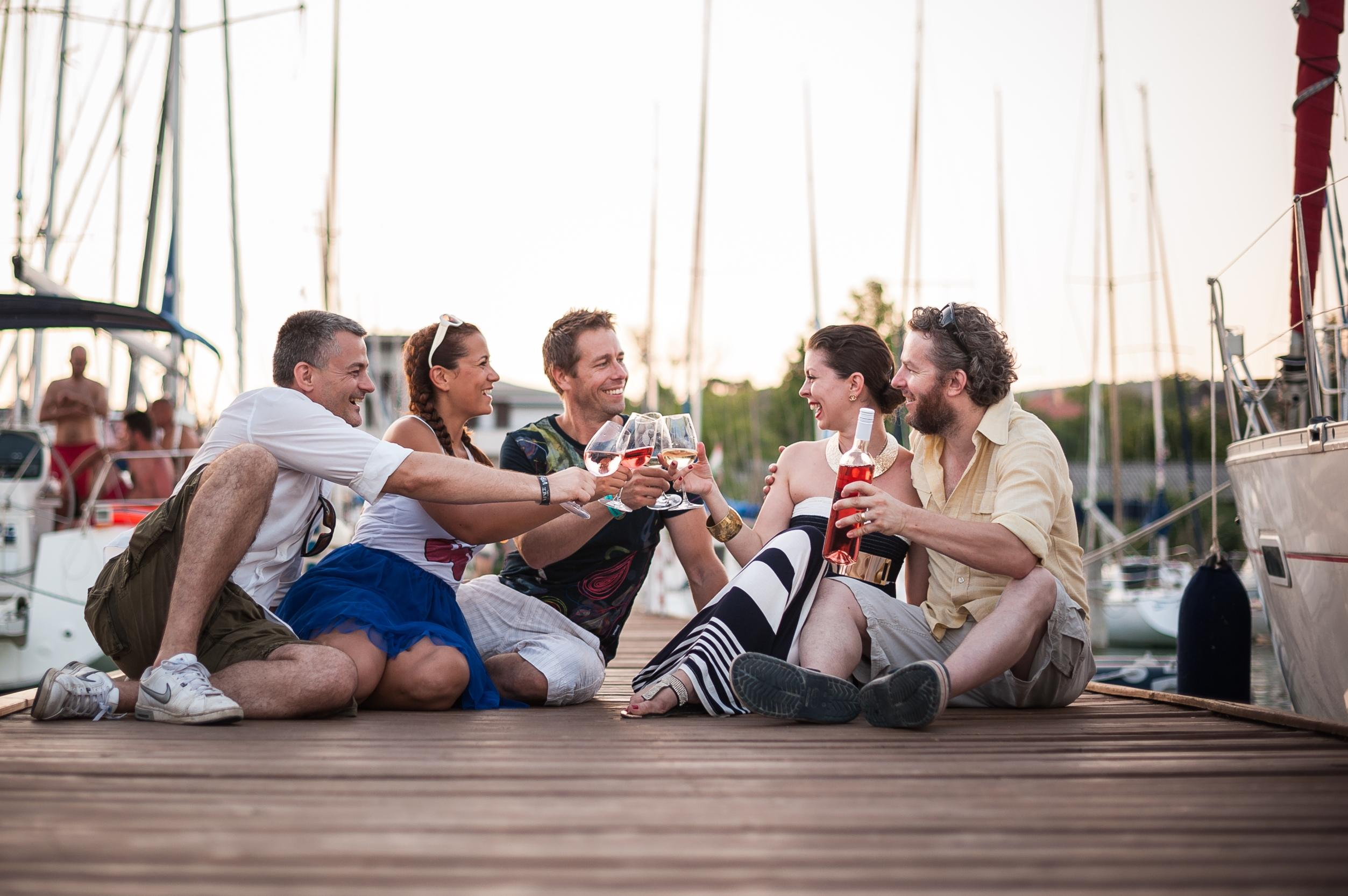 Wine & Sports Fans Celebrate At Lake Balaton, 10-13 July