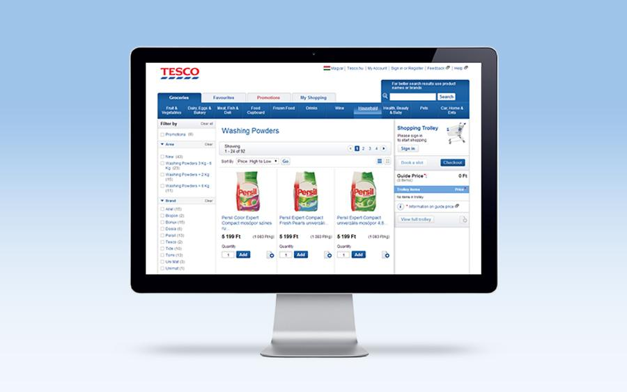 Tesco Online Grocery Shopping In Budapest: Flexible, Smart, 24/7
