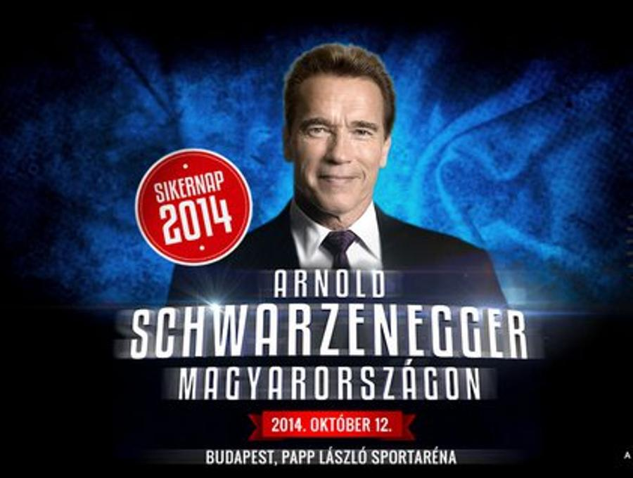 Successful People Series In Budapest With Arnold Schwarzenegger