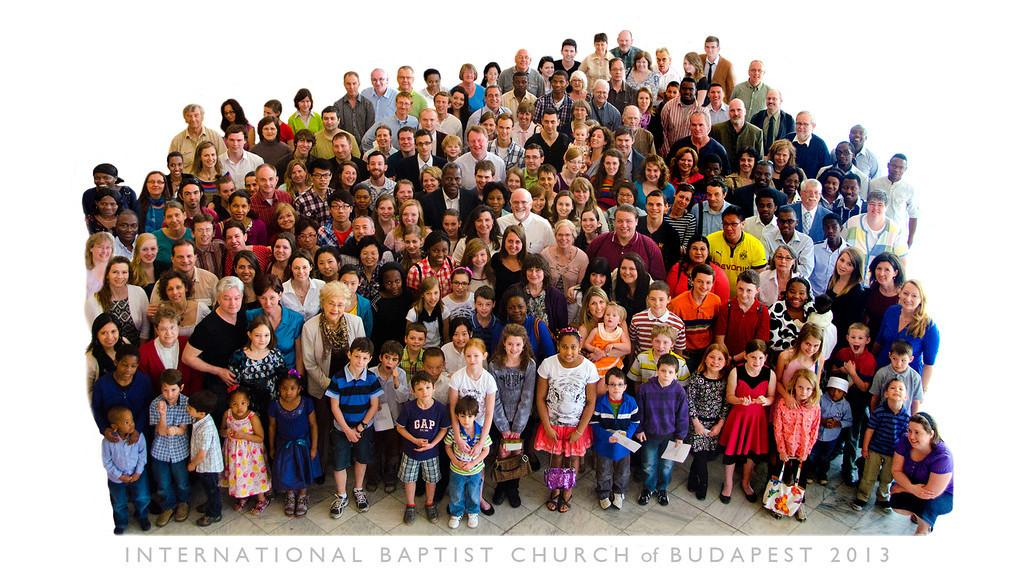 Nations Come Together To Worship At International Baptist Church Of Budapest