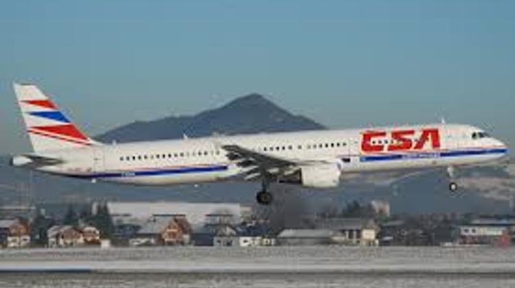 First Czech Airlines Flight Lands At Balaton Airport, Hungary