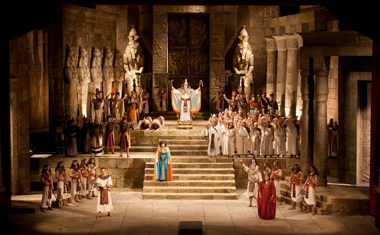 Giuseppe Verdi: Aida, Margaret Island Open Air Stage Budapest, 1 & 3 August