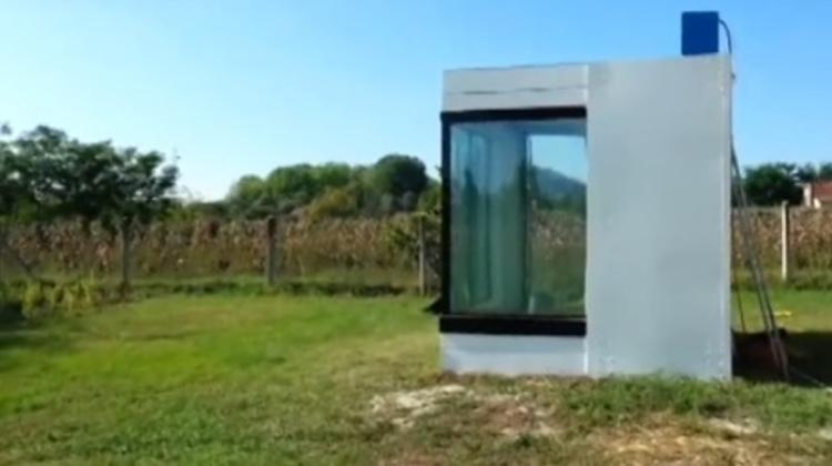 World's First Water House Presented In Kecskemét, Hungary