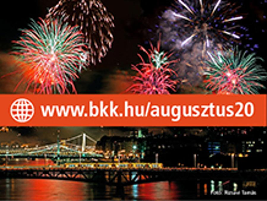 Public Transport Will Get You To The Festivities In Budapest On  20 August