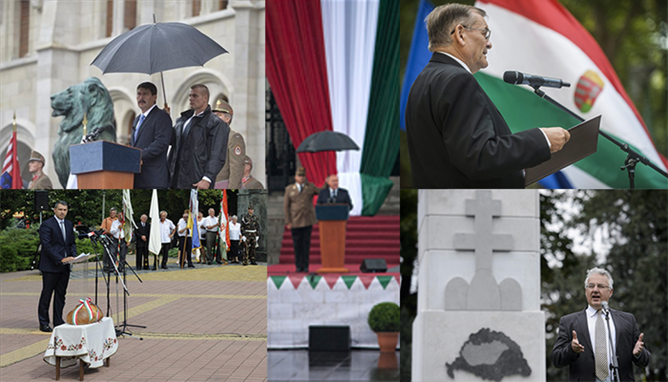 Hungarians Mark National Day With Bread, Fireworks  & Lots Of Speeches