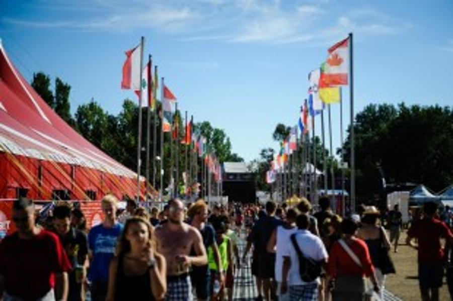 Europe Comes To Sziget Festival Budapest