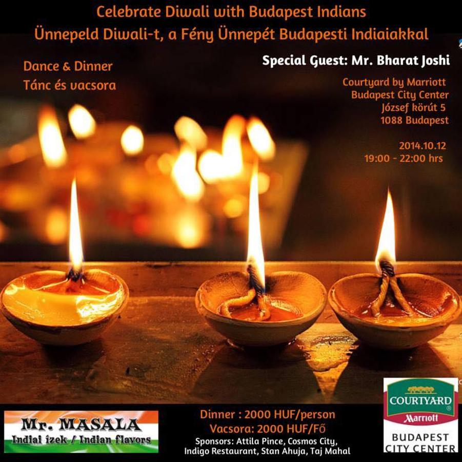 Date & Venue Change: Diwali: 'The Festival Of Lights' In Budapest, 12 October