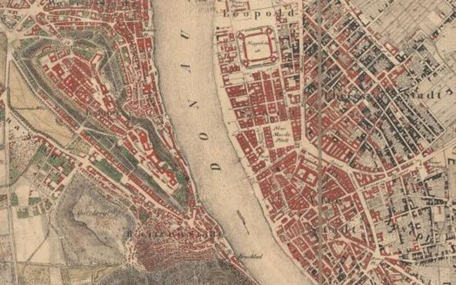 Old Maps Of Budapest Now On The Internet